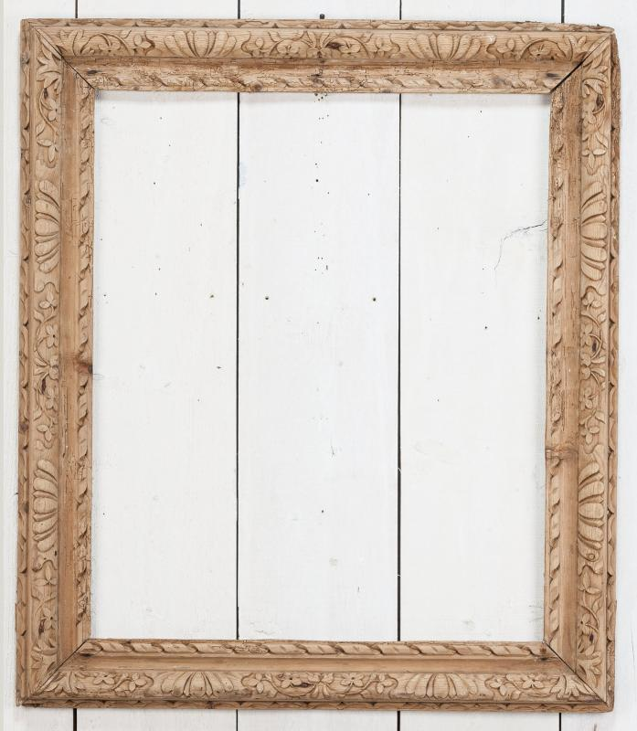 A Carved English Frame | Walpole Antiques